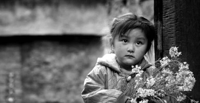 山窝窝里的中国梦   (何进文 摄)